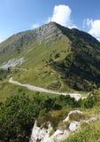 вокруг tremalzo дороги горы Италии Стоковые Изображения