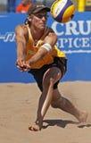 волейбол Германии пляжа шарика Стоковое Фото