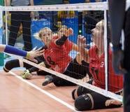 Волейбол 2016 игры Бразилии - Рио-де-Жанейро - Paralympic Стоковая Фотография RF