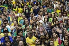 Волейбол 2016 игры Бразилии - Рио-де-Жанейро - Paralympic Стоковое Фото