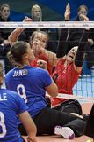 Волейбол 2016 игры Бразилии - Рио-де-Жанейро - Paralympic Стоковые Фото
