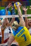 Волейбол 2016 игры Бразилии - Рио-де-Жанейро - Paralympic Стоковые Фотографии RF