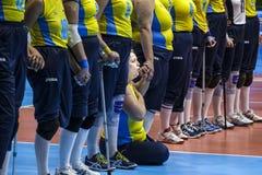 Волейбол 2016 игры Бразилии - Рио-де-Жанейро - Paralympic Стоковая Фотография