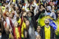 Волейбол 2016 игры Бразилии - Рио-де-Жанейро - Paralympic Стоковые Изображения