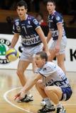 волейбол игры dunaferr kaposvar Стоковое Изображение RF