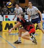 волейбол игры kaposvar wien Стоковые Изображения
