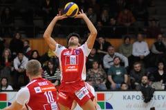 волейбол игры kaposvar wien Стоковые Фото