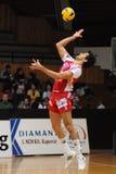 волейбол игры kaposvar wien Стоковая Фотография RF