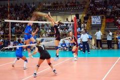 волейбол испытания спички preolympic Стоковые Фото