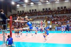 волейбол испытания спички preolympic Стоковое Фото