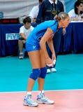 волейбол команды simona gioli итальянский Стоковые Фотографии RF