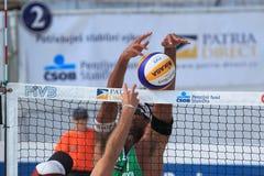 Волейбол пляжа - Рикардо Стоковые Изображения