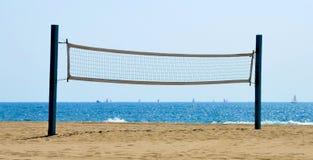 волейбол пляжа сетчатый Стоковые Фотографии RF