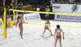 волейбол пляжа Стоковые Фотографии RF