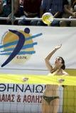 волейбол пляжа Стоковое Изображение