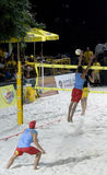 волейбол пляжа Стоковое фото RF