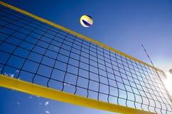 Волейбол пляжа Стоковые Изображения