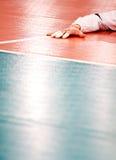 волейбол пола стоковые изображения rf