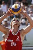 волейбол пропуска Канады пляжа Стоковые Фотографии RF