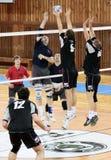 волейбол спички Стоковая Фотография