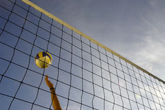 волейбол 14 пляжей Стоковое фото RF