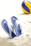 волейбол flops flip шарика Стоковые Изображения