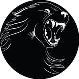 волк эмблемы Стоковые Фотографии RF