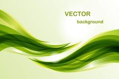 волна абстрактной предпосылки зеленая стоковые фото