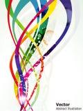 волна абстрактной предпосылки цветастая глянцеватая бесплатная иллюстрация