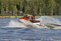 волна бегунка реки riding человека Стоковое фото RF