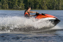 волна бегунка riding человека Стоковое фото RF
