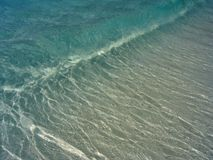волна бирюзы пляжа Стоковое Фото
