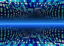 волна вектора абстрактной предпосылки чистая Стоковая Фотография RF