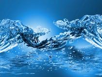 волна воды Стоковое Изображение
