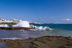 волна выплеска Стоковые Фото