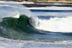 волна завальцовки Стоковая Фотография