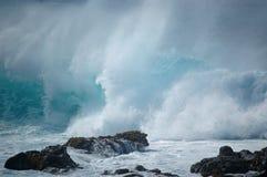 Волна зимы стоковое фото rf