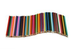 волна карандашей Стоковое Фото