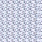 волна картины ретро безшовная Стоковое Изображение RF