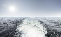 Волна круиза стоковая фотография rf