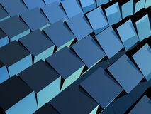 волна кубиков Стоковые Изображения RF