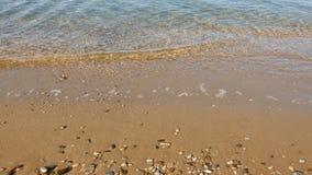 Волна моря на крае воды акции видеоматериалы