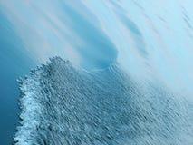 волна моря предпосылки Стоковая Фотография