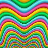 волна нашивки Стоковые Изображения RF