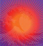 волна пиксела Стоковая Фотография RF