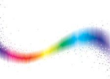 волна пиксела иллюстрация вектора
