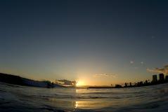 волна последнего дня Стоковые Изображения