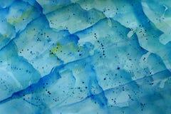 волна предпосылки голубая Стоковое фото RF