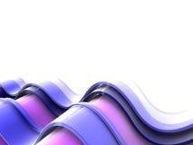 волна предпосылки голубая Стоковые Изображения RF