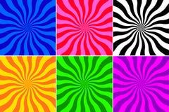волна предпосылки установленная Стоковые Изображения RF